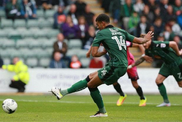 pafctv.co.uk Jervis strikes penalty against Hartlepool United