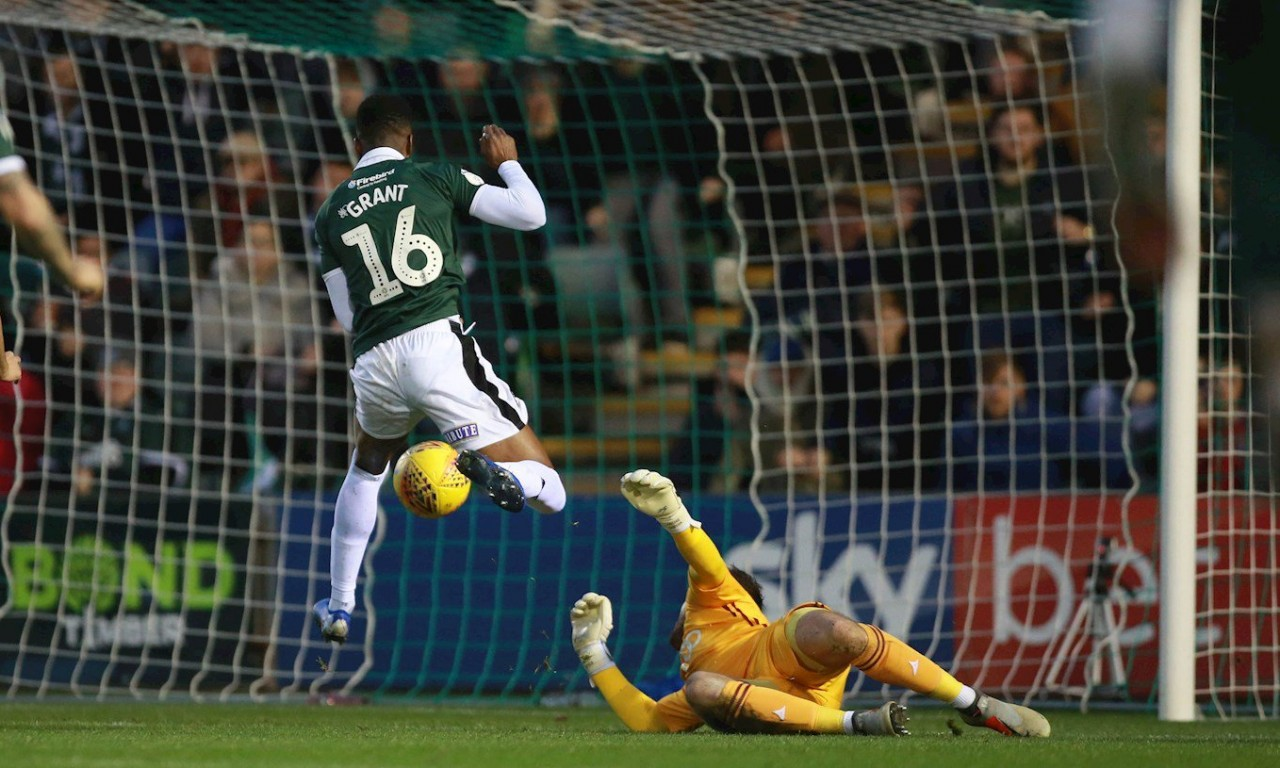 pafctv.co.uk - Argyle v Bradford City, Grant scores.