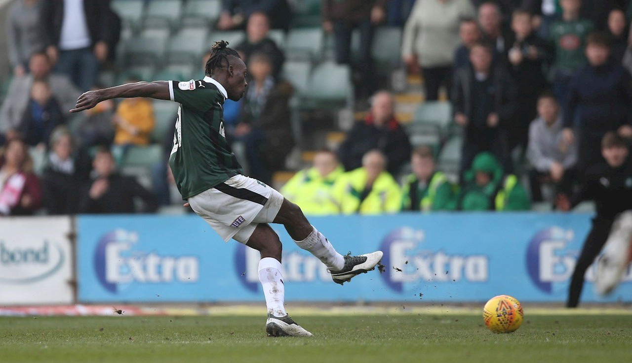 pafctv.co.uk - Argyle v Rochdale, Ladapo Scores His Second Goal