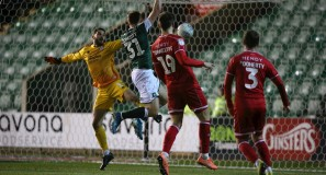 pafctv.co.uk - Luke Jephcott scores against Crawley